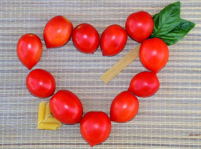 fibroid diet - food shaped into a heart- Uterine Fibroids Treatment