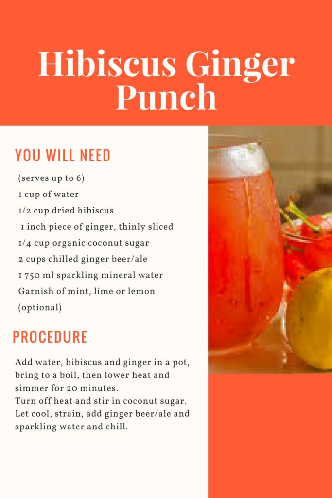 African Superfood Ebook_hibiscus ginger punch