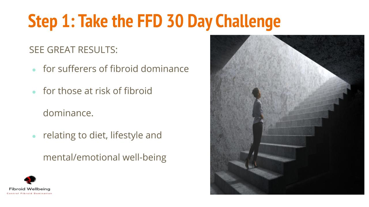 TAKE THE 30 FFD CHALLENGE SLIDE